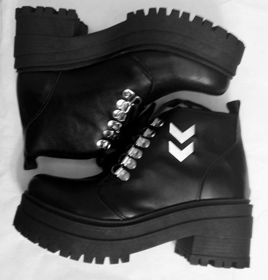Zapatos Borceguí Plataforma Mujer Moda 2019fiorcalzados