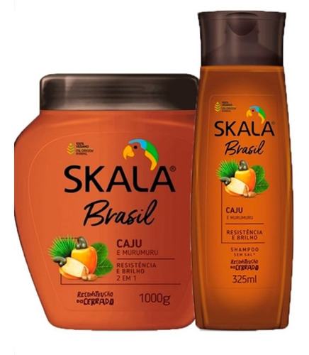 Skala Caju Y Murumuru Shampoo Y Tratamien - g a $20
