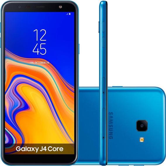 Smartphone Samsung Galaxy J4 Core 16gb, Azul - Sm-j410g