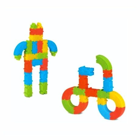 Brinquedo Para Montar Monta Tudo 24 Pecas Elka