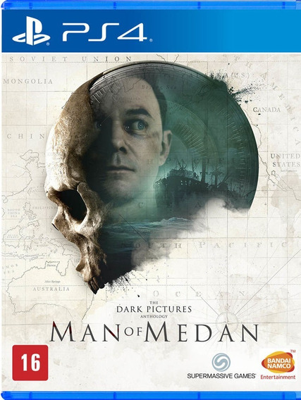 The Dark Pictures: Man Of Medan Ps4 Novo Lacrado