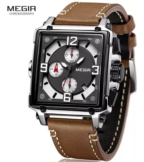 Relógios Quartz De Luxo Relógios Megir Exército Militar