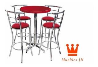 Mesa Periquera Con Banco Chabely Bar Restaurant Lounge