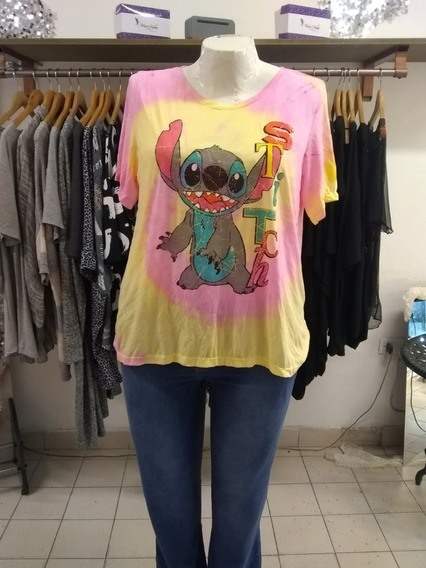 Remera Talla Grande Stich Art2064