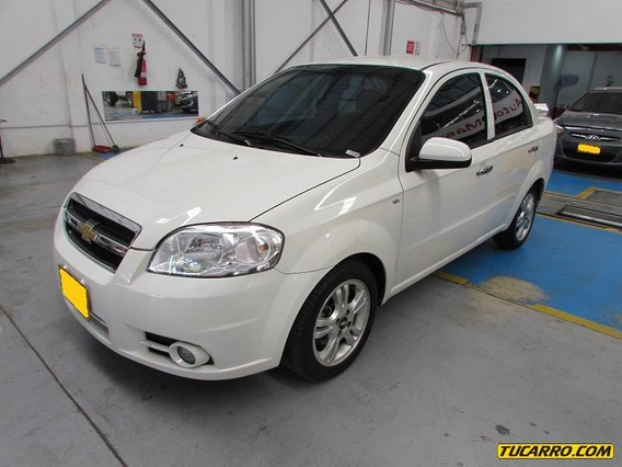 Chevrolet Aveo Emotion Mt 1600cc 4p
