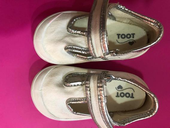 Lote 5 Pares De Zapatillas/guillerminas T21/22 adidas/ Toot