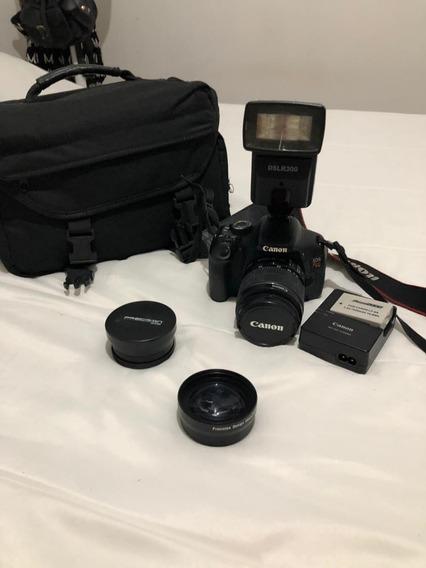 Canon T3i + Lente 18-55 + Bateria Extra + Case