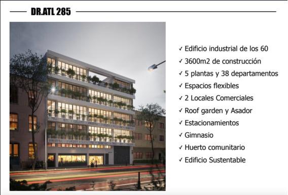 Departamentos Venta,calle Dr. Atl,col. Santa Maria De La Ribera,del.cuauthemoc.