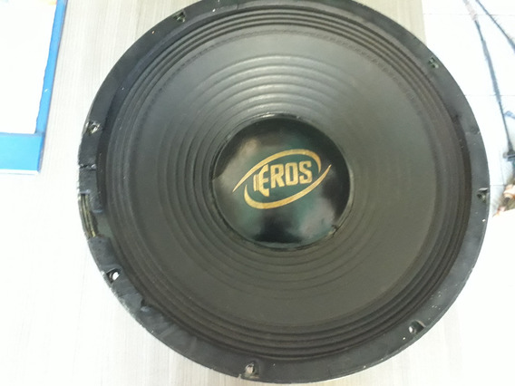 Alto Falante Eros E-815 Sds 15 Polegadas 800w Rms 4 Ohms