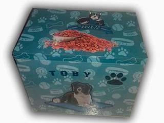 Caja Para Alimento De Mascotas, Personalizado.