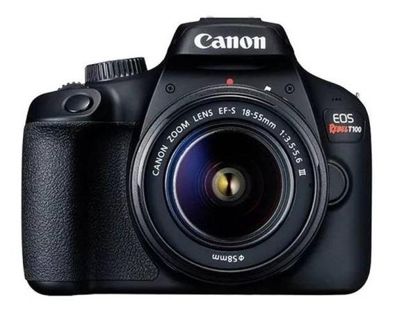 Câmera Digital Canon Eos Rebel T100 - Tela Lcd 2.7