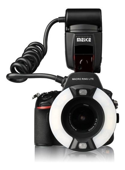 Flash Circular Meike Mk-14ext - Nikon Garantia Novo