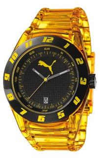 Reloj Puma Disc Injection Amarillo