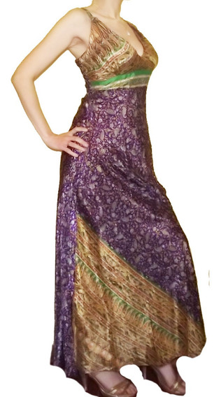 Bello Vestido Hindú Largos Modelos India Chic Xs S M