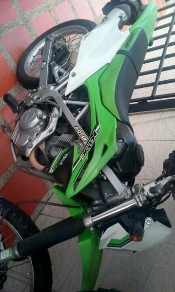 Kawasaki Klx 150 Verde Y Blanca
