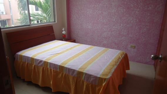 Rento Casa Amoblada En Urb Cataluna Via Samborondon Km 12