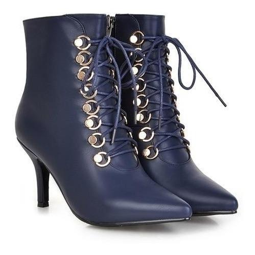 Ankle Boot Feminina Meotina 14020 Importado