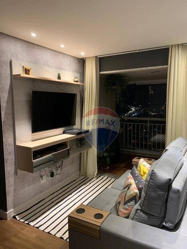 Imagem 1 de 24 de Apartamento Com 2 Dormitórios À Venda, 56 M² Por R$ 354.900,00 - Vila Nova Galvão - São Paulo/sp - Ap0076