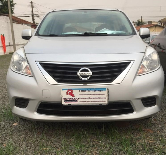 Nissan Versa Sedan 1.6 16v 4p Flex Sv