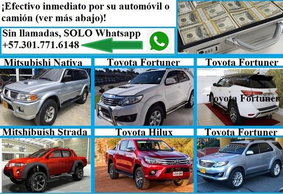 Compro Campero O Coche Automátic, En Efectivo Y De Inmediat