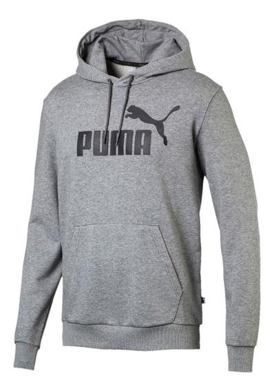 Sudadera Puma Hombre Gris Ess Hoody 85174503