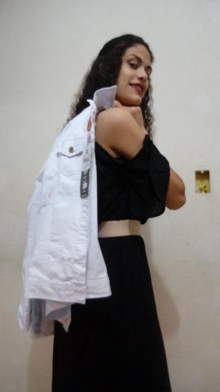 Jaqueta Branca Feminina Spaço Vagun