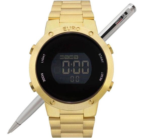 Relógio Euro Feminino Fashion Fit Digital Eubj3279aa/4d Nfe