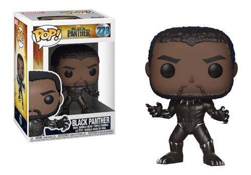Funko Pop Pantera Negra Black Panther 273 Original Edu Full