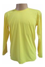4 Camisas Adulto Proteção Uv Fps 50