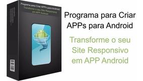 Aplicativo Para Converter Seu Site Responsivo Em App Android