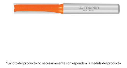 Broca Router Recta 2 Filos 3/4' X 3/4' Truper 11459