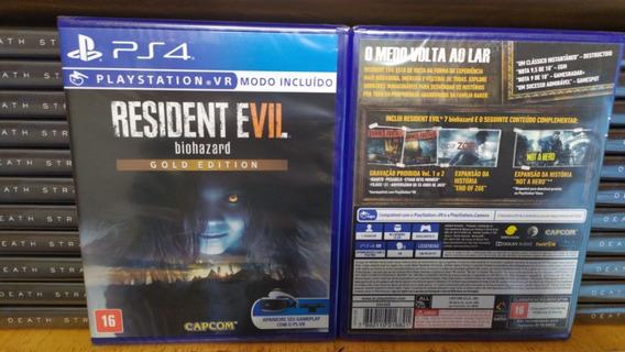 Resident Evil 7 Gold Edition Ps4 Português Mídia Física