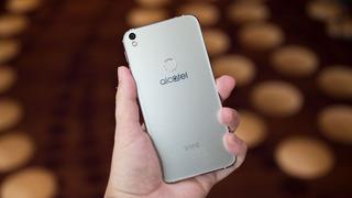 Celular Alcatel Shine Lite -estado 10/10 -16gb - Dorado