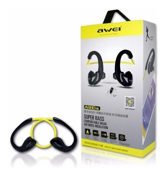 Fone De Ouvido Bluetooth Awei A880bl + Frete Grátis