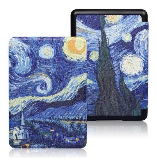 Capa Case Kindle 10ª Geração C/ Função Auto Sleep - Van Gogh