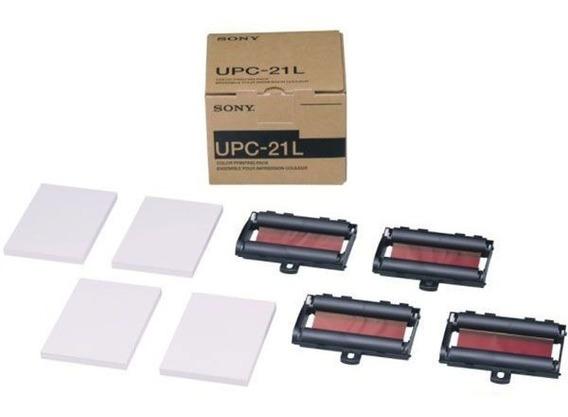 Papel Upc 21l 200 Folhas Colorido Sony Produto Original