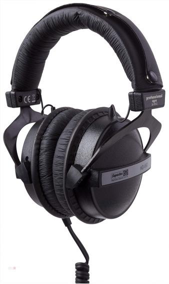 Fone Superlux Hd660 Profissional (monitoração, Dj, Estúdio).