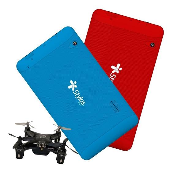 Tablet Stylos 7 Quadcore 8gb Oferta Combo 2x1 + Drone