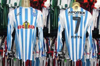 Paysandú 2004 Camisa Titular Tamanho G Mangas Longas # 7.