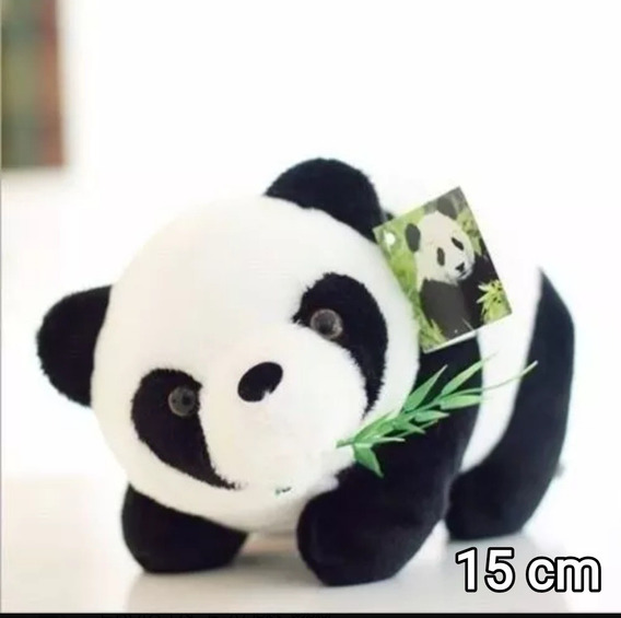 Ursinho De Pelúcia Panda 14 Cm Show