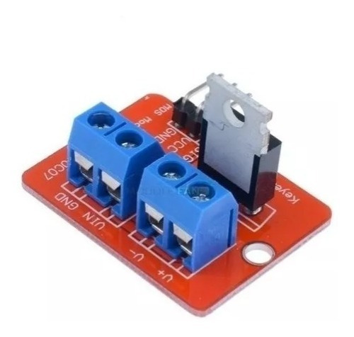 Shield Dimmer Dc Mosfet Irf520 Módulo Driver P/ Arduino