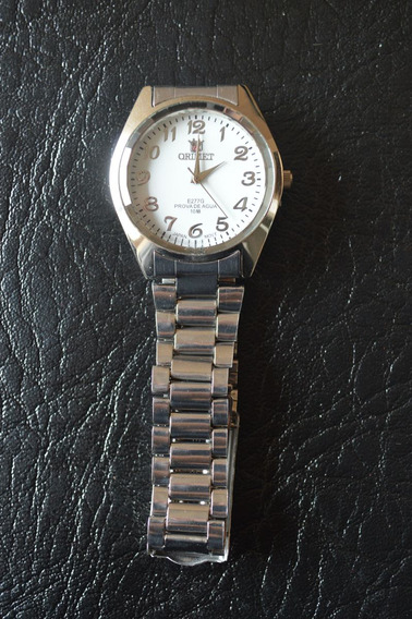 Relógio Masculino Branco Orimet Lindo Pequeno Ótimo