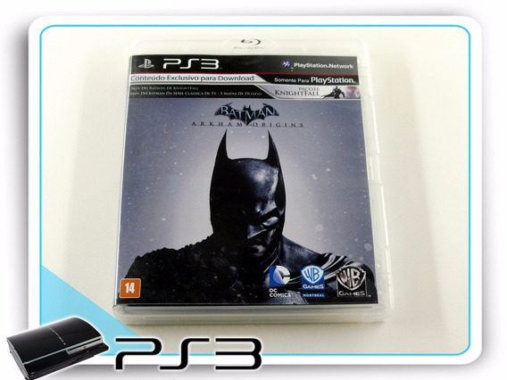 Ps3 Batman Arkham Origins Original Playstation 3