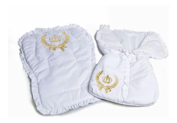 Kit Capa Para Carrinho E Bebê Conforto E Porta Bebe