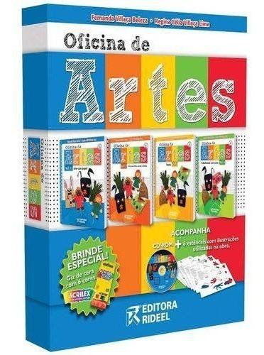 Coleçao Oficina De Artes 4vols - Rideel