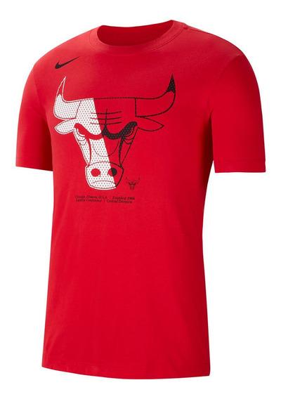 Remera Nike Chicago Bulls Tienda Oficial Nike