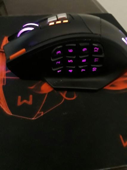 Mouse Gamer 4.000 Dpi 18 Botões