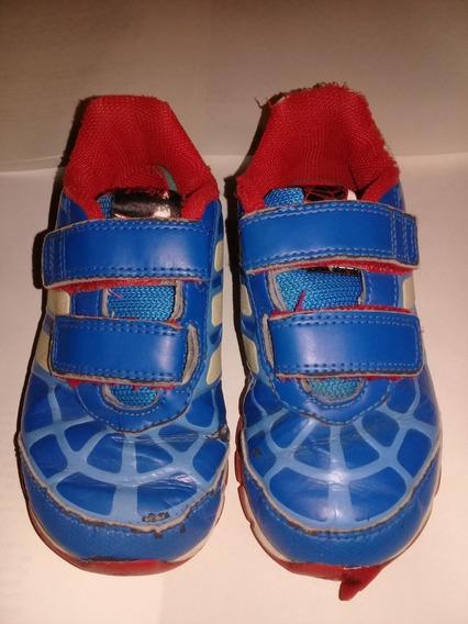 Zapatillas adidas Nene Talle 25 Spiderman Hombre Araña