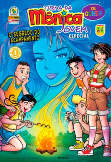 Revista Turma Da Monica Jovem Nº 1 Especial Em Cores