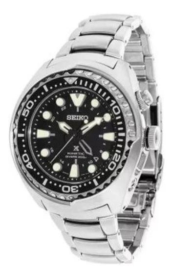 Relogio Seiko Prospex Sun019p1 Kinetic Gmt Diver Automatico